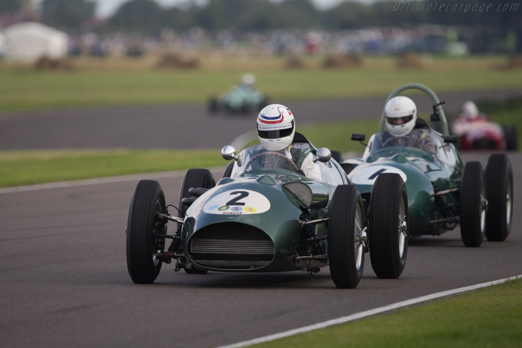 Aston Martin DBR4 - Chassis: DBR4/1 - Entrant: Wolfgang Friedrichs - Driver: Simon Hadfield  - 2014 Goodwood Revival
