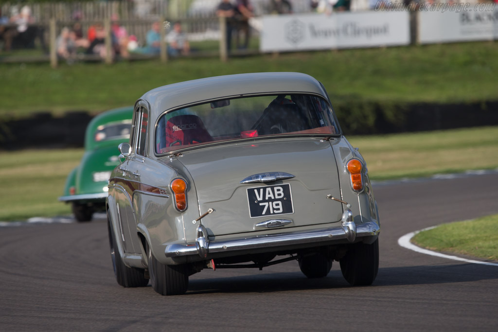 Austin A105 Westminster - Chassis: 015883 - Entrant: Jim Woodley - Driver: James Wood  - 2014 Goodwood Revival