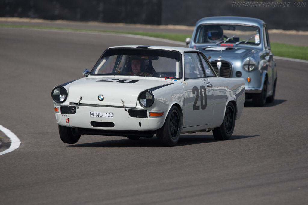 Race Car Trophy >> BMW 700 - Driver: Jackie Oliver - 2014 Goodwood Revival