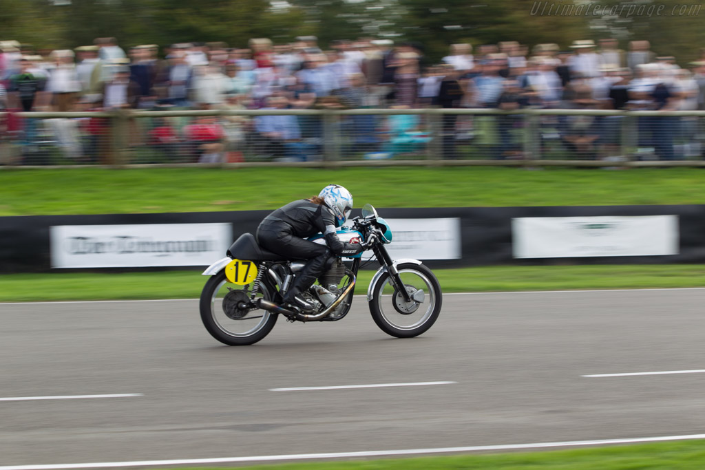 BSA Gold Star  - Driver: Tony Smith / Sophie Smith  - 2014 Goodwood Revival