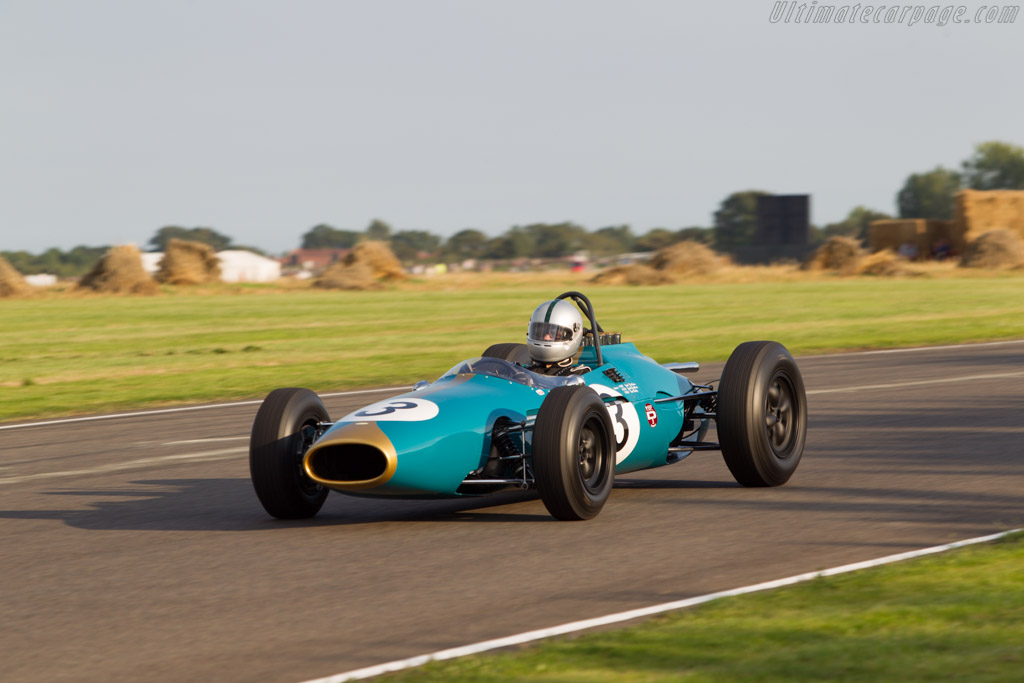 Brabham BT3 Climax - Chassis: F1-1-62 - Driver: Marco Rollinger  - 2014 Goodwood Revival