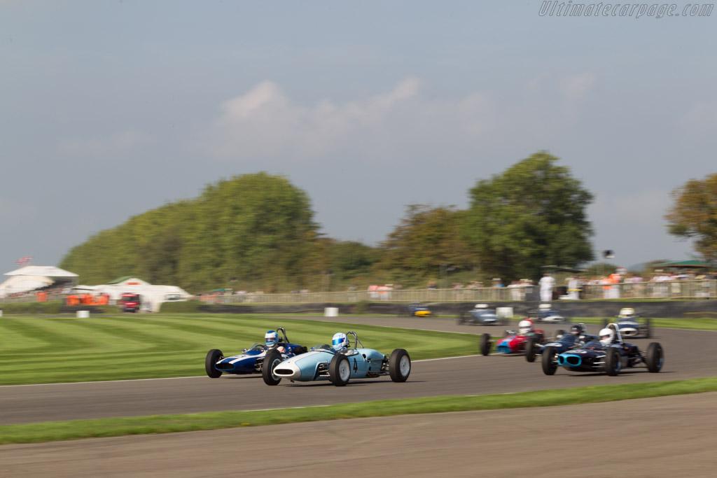 Brabham BT6 Ford  - Driver: Caroline Abbou Rossi de Montelera  - 2014 Goodwood Revival
