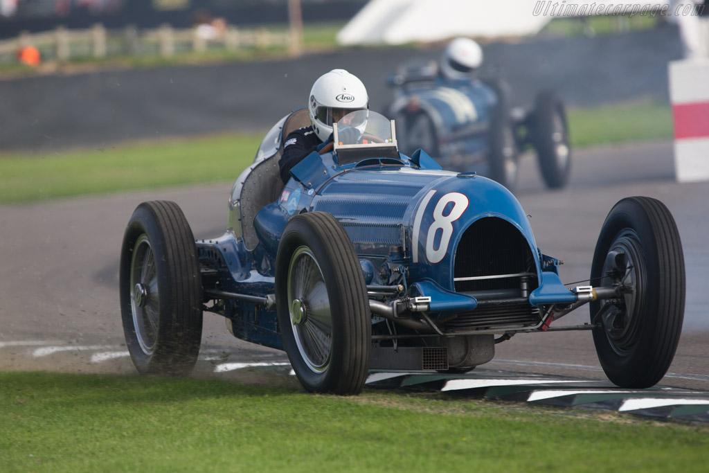 Bugatti Type 59/50B III - Chassis: 44-1352 - Entrant: Gunther Krumpl - Driver: Tom Dark  - 2014 Goodwood Revival