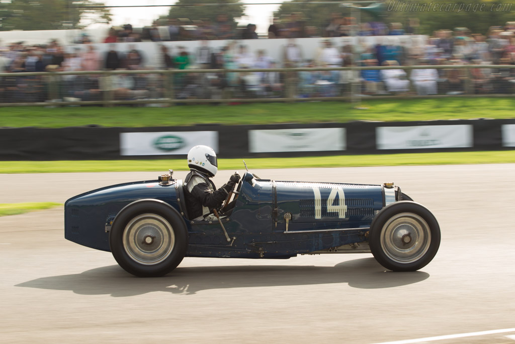 Bugatti Type 59 - Chassis: BC 159 - Entrant: Charles McCabe - Driver: Charles Knill-Jones  - 2014 Goodwood Revival