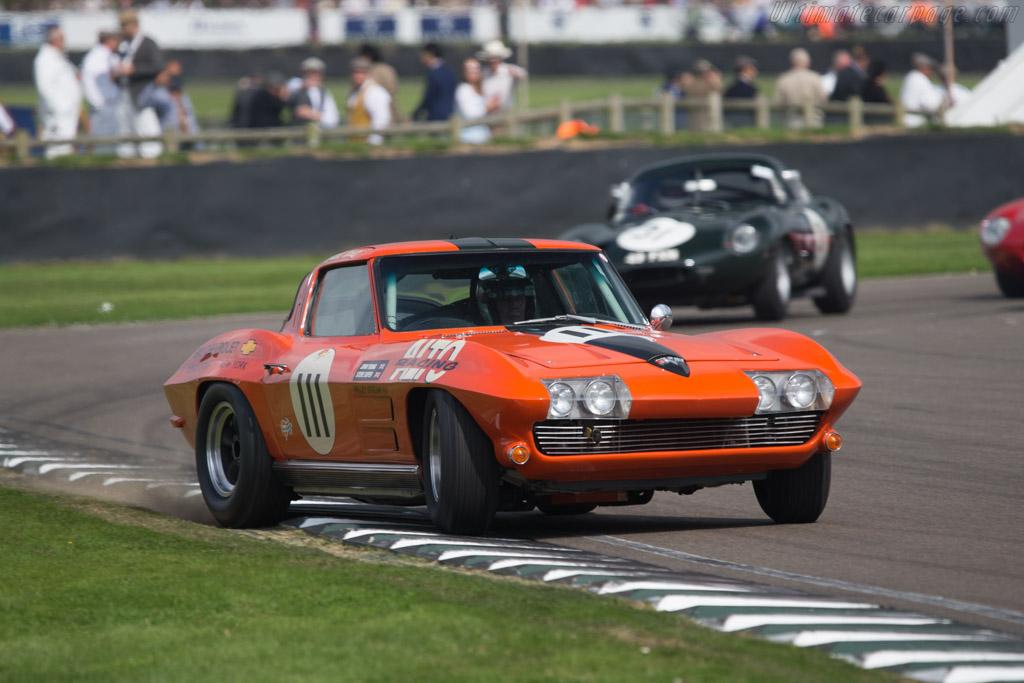 Chevrolet Corvette  - Driver: John Young / Steve Soper  - 2014 Goodwood Revival