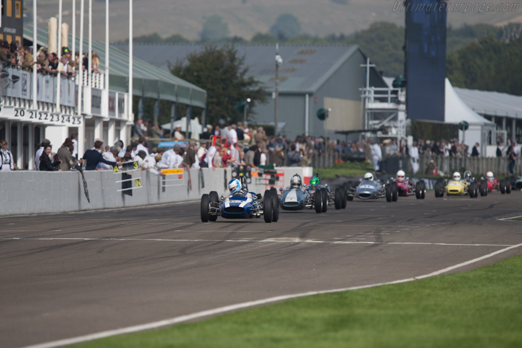 Cooper T59 Ford - Chassis: FJ-6-63 - Driver: Jon Milicevic  - 2014 Goodwood Revival