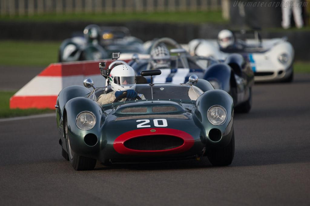 Cooper T61P Monaco Maserati - Chassis: 151-010 - Driver: Michael O'Shea  - 2014 Goodwood Revival