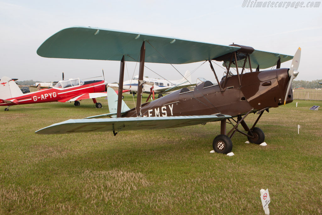 De Havilland Tiger Moth    - 2014 Goodwood Revival