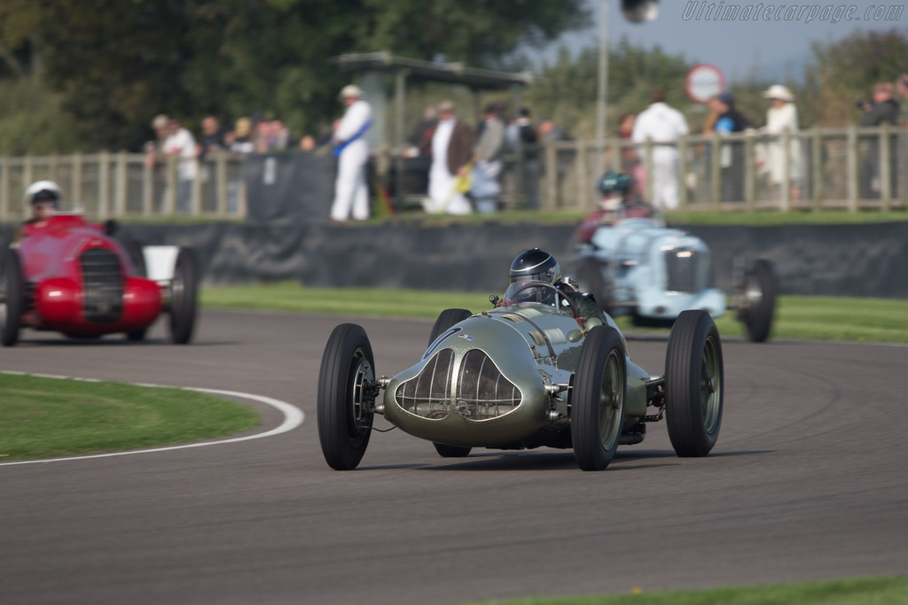 ERA E-Type - Chassis: GP1 - Driver: Duncan Ricketts  - 2014 Goodwood Revival