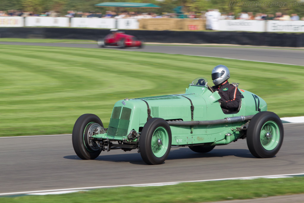 ERA R3A - Chassis: R3A - Entrant: Richard Skipworth - Driver: Mark Gillies  - 2014 Goodwood Revival
