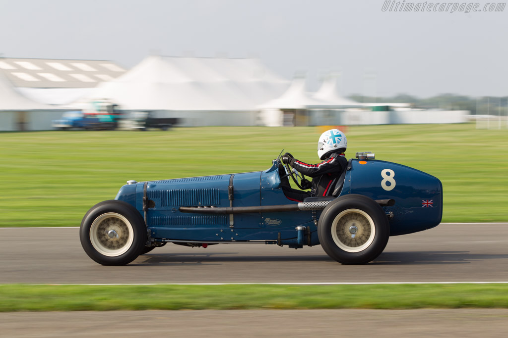 ERA R4A - Chassis: R4A - Driver: Nicholas Topliss  - 2014 Goodwood Revival