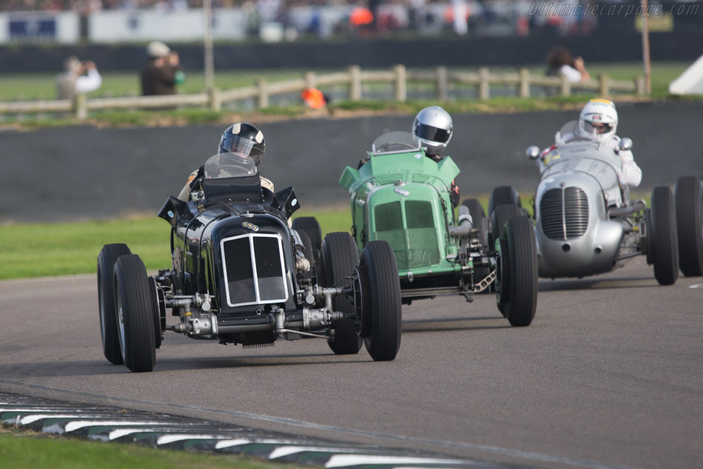 ERA R4D - Chassis: R4D - Entrant: J Mac Hulbert - Driver: James Baxter  - 2014 Goodwood Revival