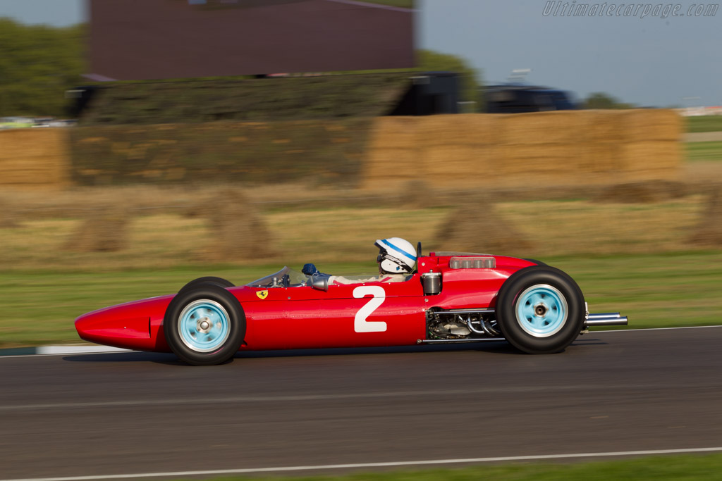 Ferrari 158 F1 - Chassis: 0006 - Entrant: Barber Motorsport Museum - Driver: John Surtees  - 2014 Goodwood Revival