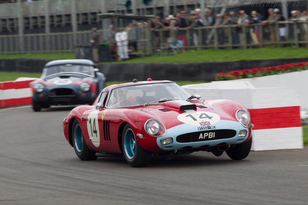 Ferrari 250 GTO Pininfarina Coupe - Chassis: 4399GT - Entrant: Anthony Bamford - Driver: Alain de Cadenet  - 2014 Goodwood Revival