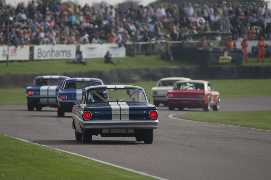 Ford Falcon Sprint  - Entrant: Robert Sarrailh - Driver: Henri Pescarolo / Fabien Sarrailh  - 2014 Goodwood Revival