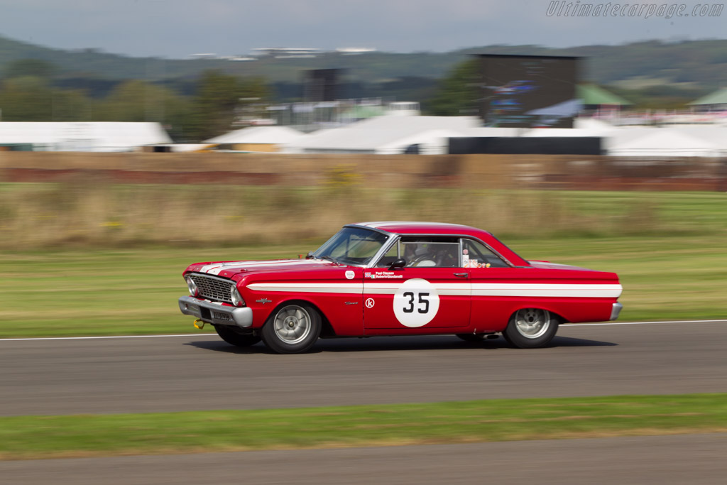Ford Falcon Sprint  - Driver: Paul Clayson / Roberto Giordanelli  - 2014 Goodwood Revival
