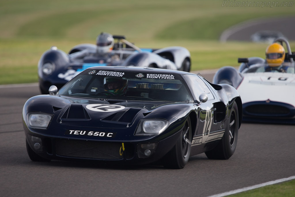 Ford GT40 - Chassis: GT40P/1019 - Driver: Joaquin Folch-Rossinol  - 2014 Goodwood Revival