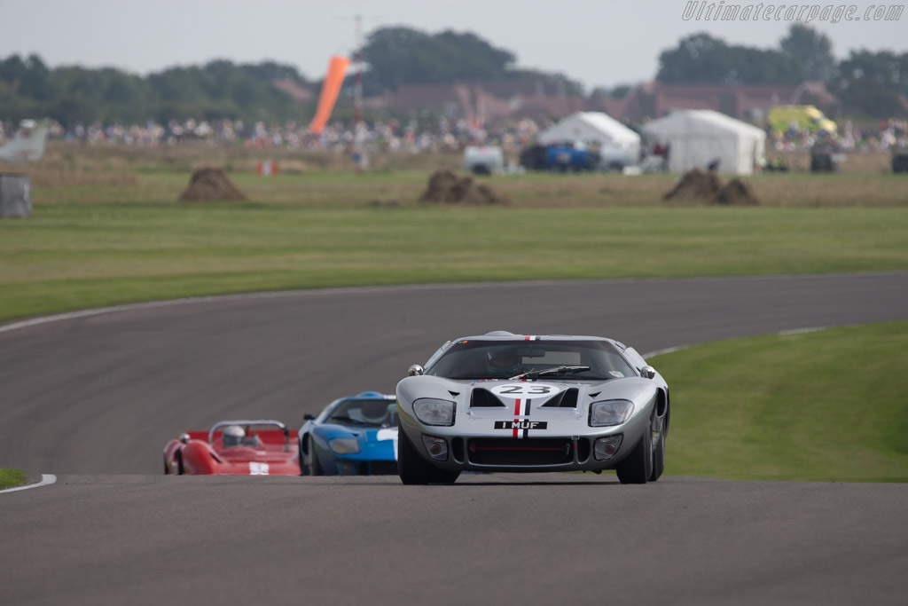 Ford GT40  - Entrant: Andrew Smith - Driver: James Cottingham  - 2014 Goodwood Revival