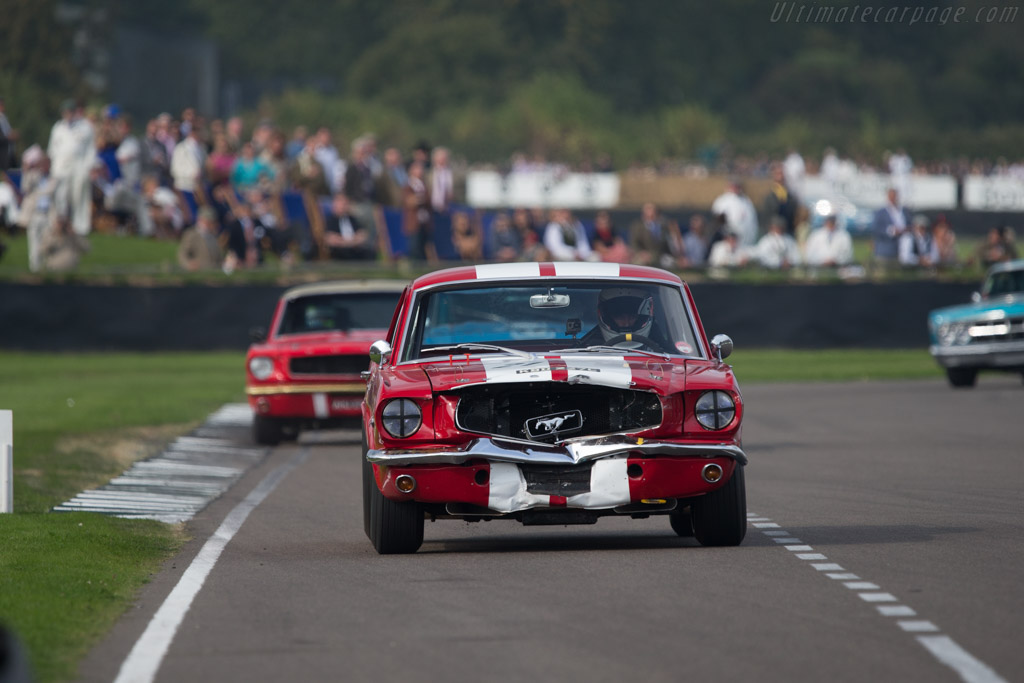 Ford Mustang - Chassis: 6R07C117565 - Driver: Mark Ashworth / Simon Ashworth  - 2014 Goodwood Revival