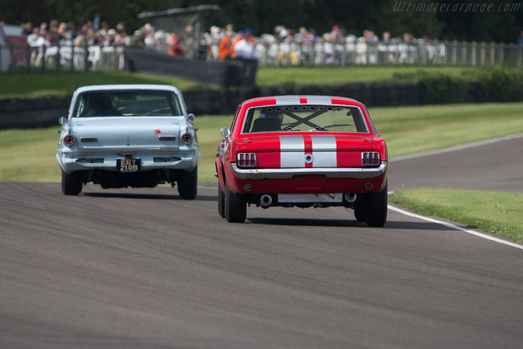 Ford Mustang - Chassis: F07A614921 - Driver: Karsten Le Blanc / Nigel Greensall  - 2014 Goodwood Revival