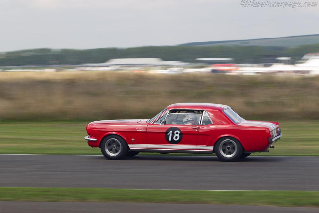 Ford Mustang  - Driver: Arne Berg / Erik Dobloug  - 2014 Goodwood Revival