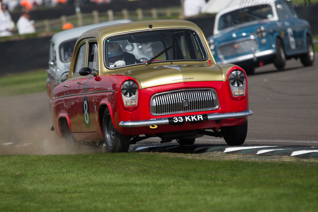 Ford Prefect 107E - Chassis: TC/792/AZ - Entrant: James Martin - Driver: Jason Plato  - 2014 Goodwood Revival