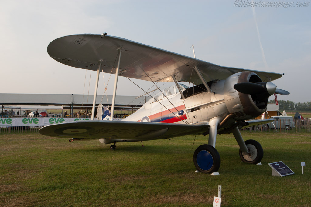 Gloster Gladiator    - 2014 Goodwood Revival