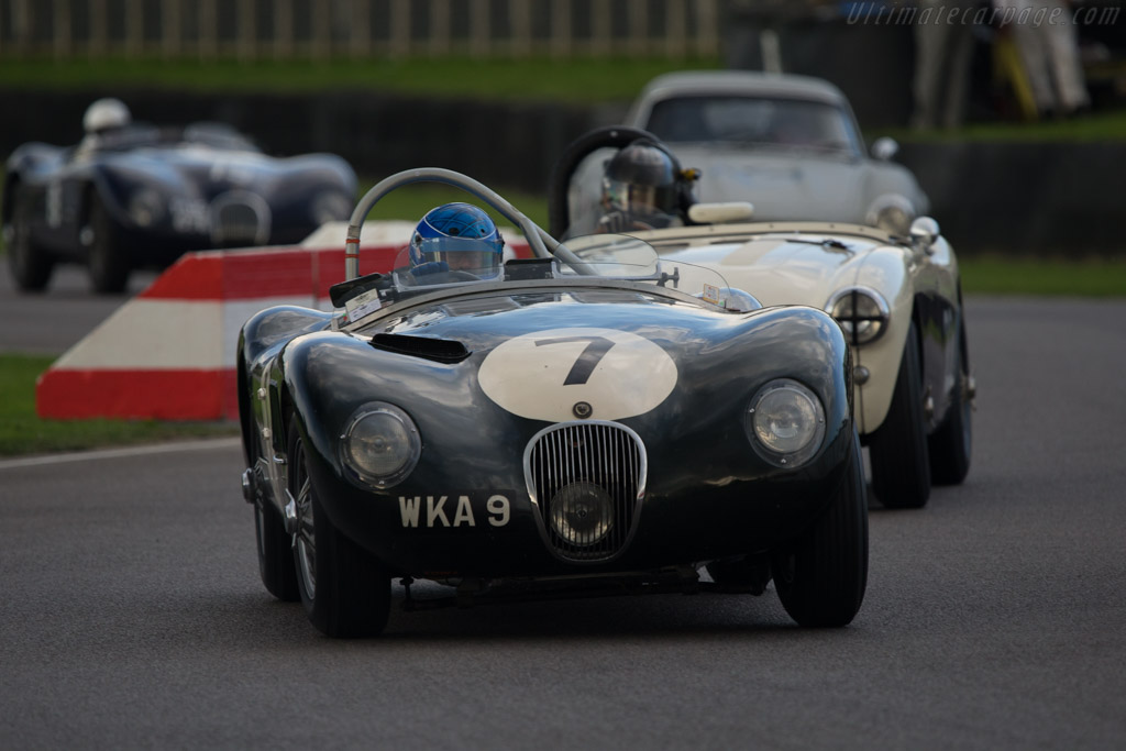 Jaguar C-Type - Chassis: XKC 053 - Driver: Rob Walton  - 2014 Goodwood Revival