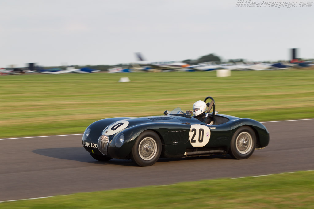 Jaguar C-Type - Chassis: XKC 043 - Entrant: Sir David Scholey - Driver: Nick Finburgh  - 2014 Goodwood Revival