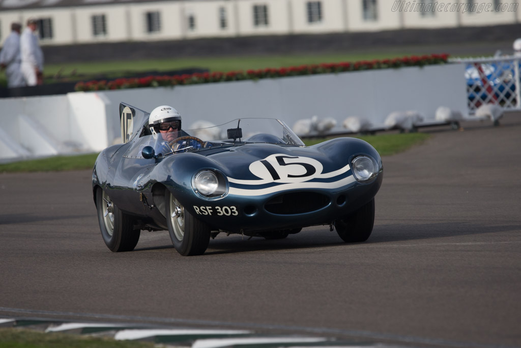 Jaguar D-Type Long Nose - Chassis: XKD 603 - Entrant: Sir Anthony Bamford  - 2014 Goodwood Revival