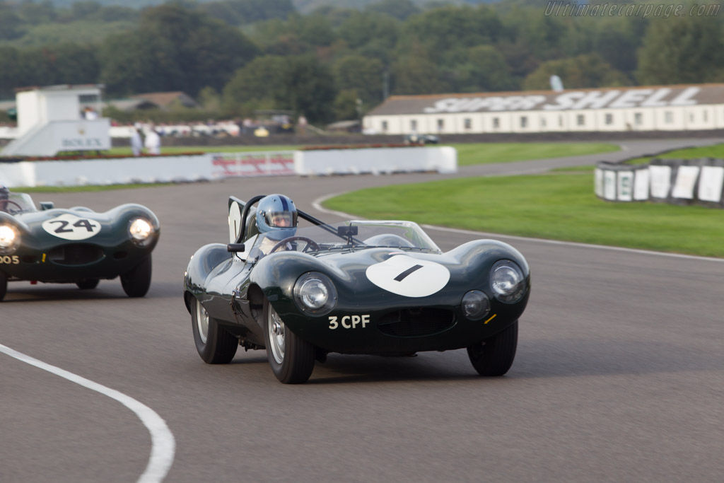 Jaguar D-Type Works - Chassis: XKD 406 - Driver: Lukas Huni  - 2014 Goodwood Revival