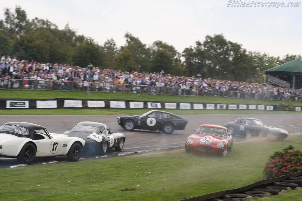 Jaguar E-Type Semi-Lightweight - Chassis: 850216 - Entrant: Michael Wilkinson - Driver: Robin Liddell / Matt Nicoll-Jones  - 2014 Goodwood Revival