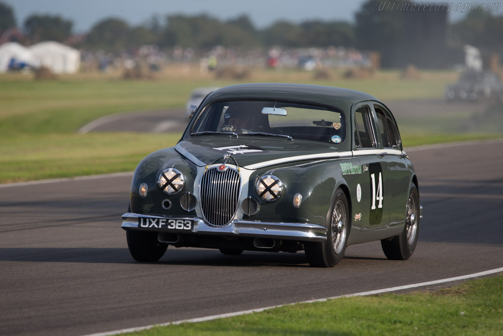 Jaguar Mk1 - Chassis: 971508 - Entrant: Don Law Racing - Driver: Justin Law  - 2014 Goodwood Revival