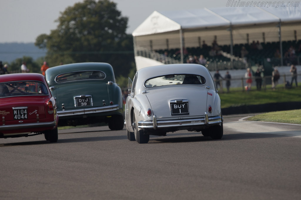 Jaguar Mk1 - Chassis: 976897 - Entrant: Anthony Williams - Driver: Grant Williams  - 2014 Goodwood Revival