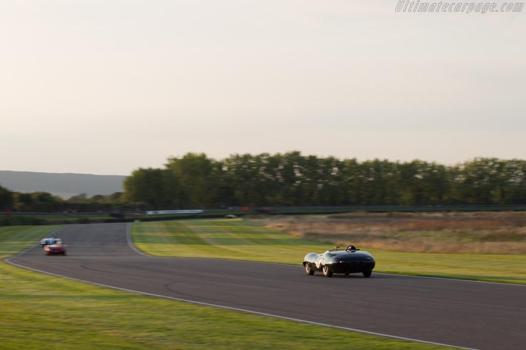 Lister Costin Jaguar - Chassis: BHL 133 - Entrant: Zollie Birch - Driver: Alex Buncombe / Chris Ward - 2014 Goodwood Revival