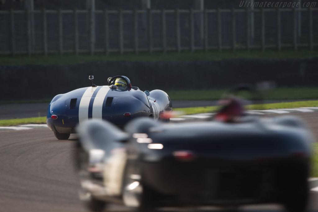 Lister Costin Jaguar  - Entrant: John Kent - Driver: Richard Kent / Chris Harris  - 2014 Goodwood Revival