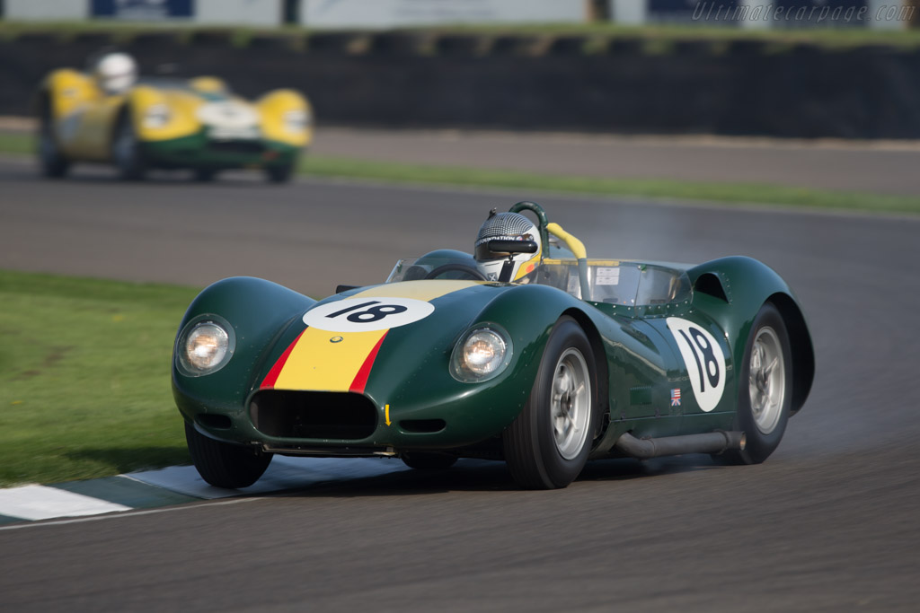 Lister Knobbly Chevrolet - Chassis: BHL 18 - Entrant: Esmond Smith - Driver: Alasdair McCaig / Andrew Smith - 2014 Goodwood Revival