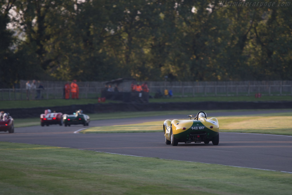Lister Knobbly Jaguar - Chassis: BHL 105 - Driver: Christopher Lunn / Andrew Keith-Lucas  - 2014 Goodwood Revival