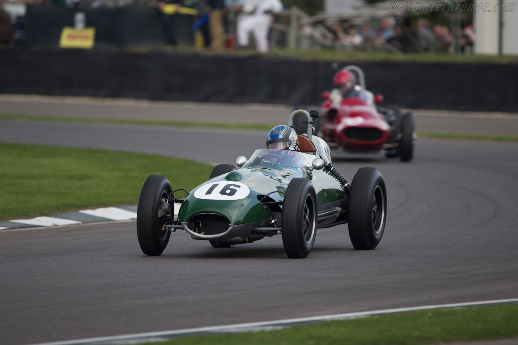 Lotus 16 Climax - Chassis: 363 - Driver: Roger Wills  - 2014 Goodwood Revival