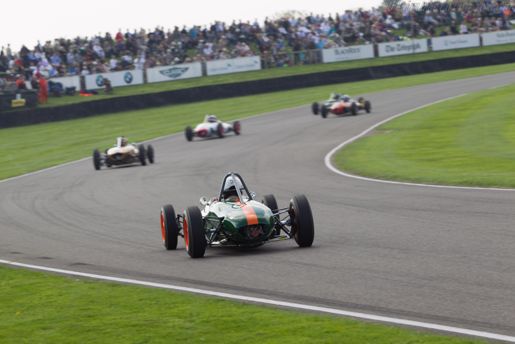 Lotus 20/22 Ford - Chassis: 20-J-855 - Driver: Urs Muller  - 2014 Goodwood Revival