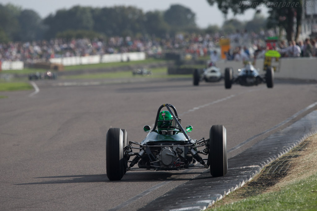 Lotus 24 BRM - Chassis: P2 - Entrant: Paul Drayson - Driver: Martin Stretton  - 2014 Goodwood Revival