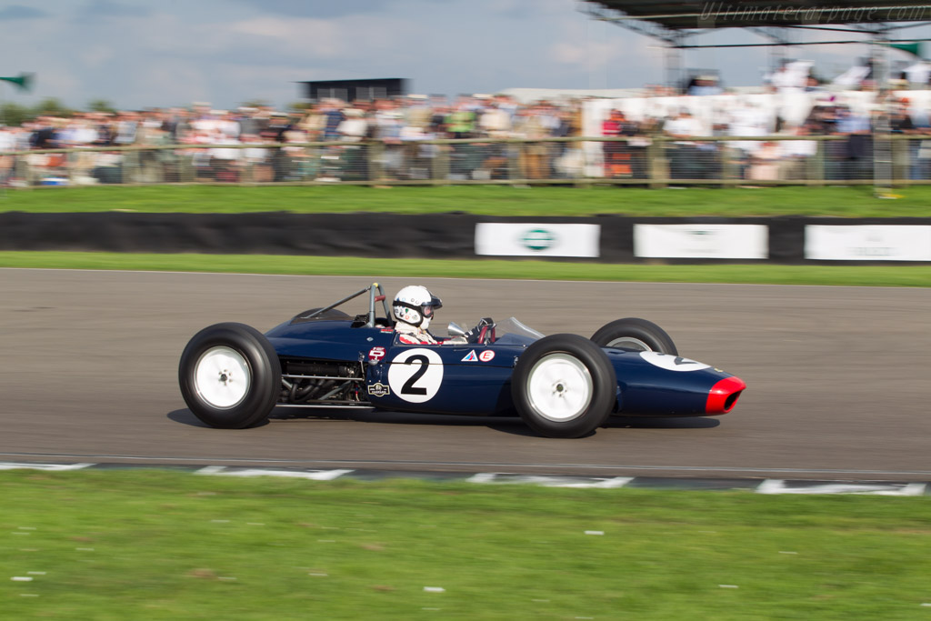 Lotus 24 BRM - Chassis: P1 - Driver: Nigel Williams  - 2014 Goodwood Revival