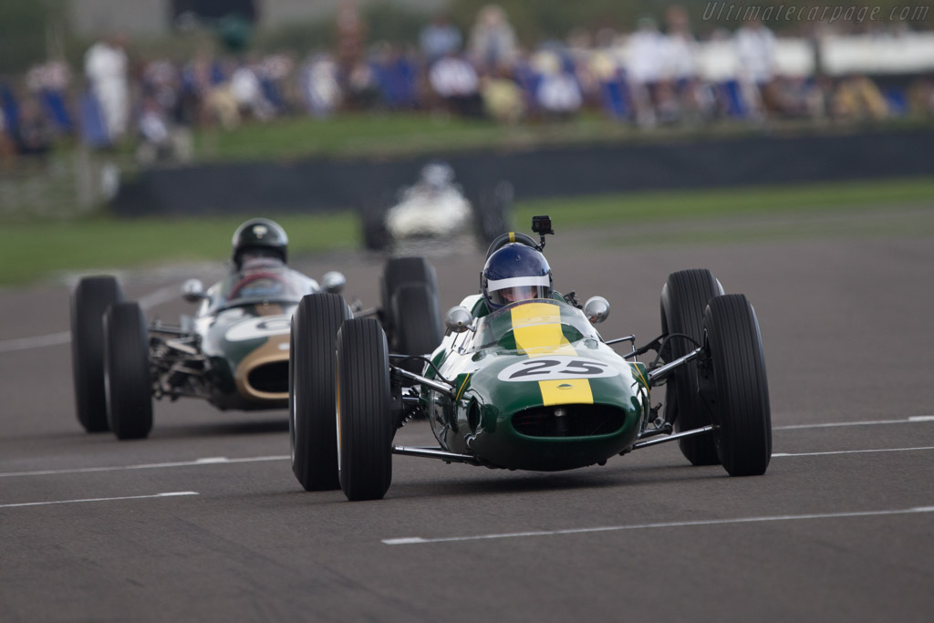 Race Car Trophy >> Lotus 25 Climax - Chassis: R3 - Entrant: Classic Team Lotus - Driver: Andy Middlehurst - 2014 ...
