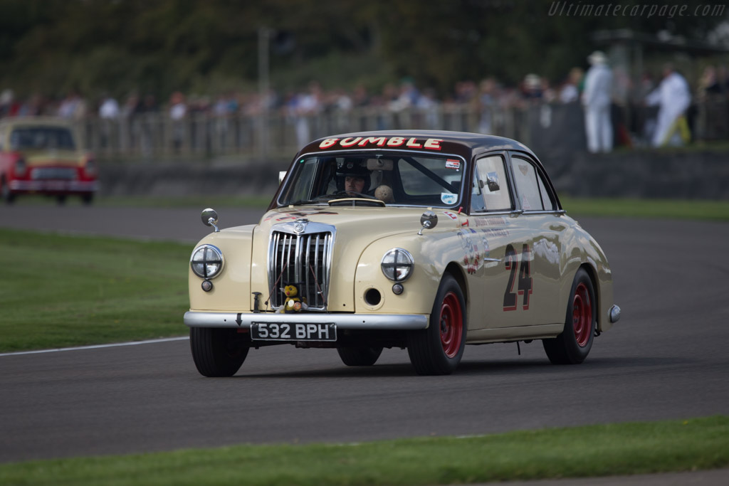 MG Magnette ZA - Chassis: R24704 - Entrant: Julius Thurgood - Driver: Paul O'Neill  - 2014 Goodwood Revival