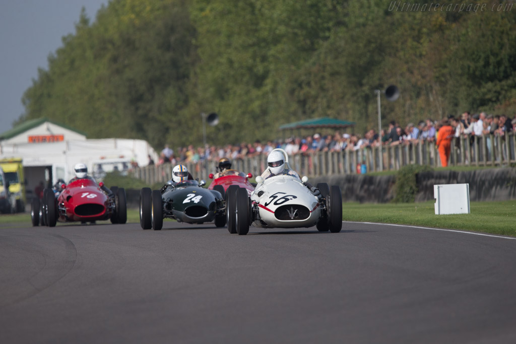 Maserati 250F - Chassis: 2521 - Driver: Wolf-Dieter Baumann  - 2014 Goodwood Revival