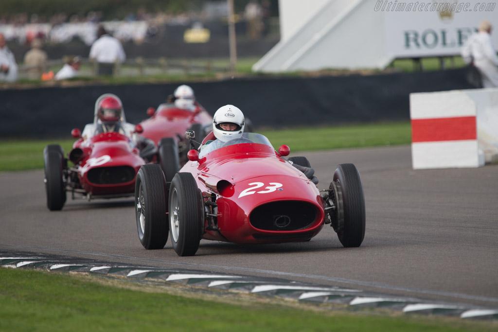 Maserati 250F - Chassis: 2532 - Entrant: Ten Tenths Ltd - Driver: Mark Hales  - 2014 Goodwood Revival