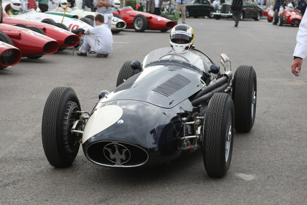 Maserati 250F - Chassis: 2504 - Driver: Christian Glaesel  - 2014 Goodwood Revival