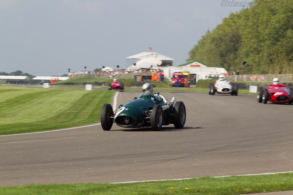 Maserati 250F - Chassis: 2507 - Driver: Klaus Lehr  - 2014 Goodwood Revival