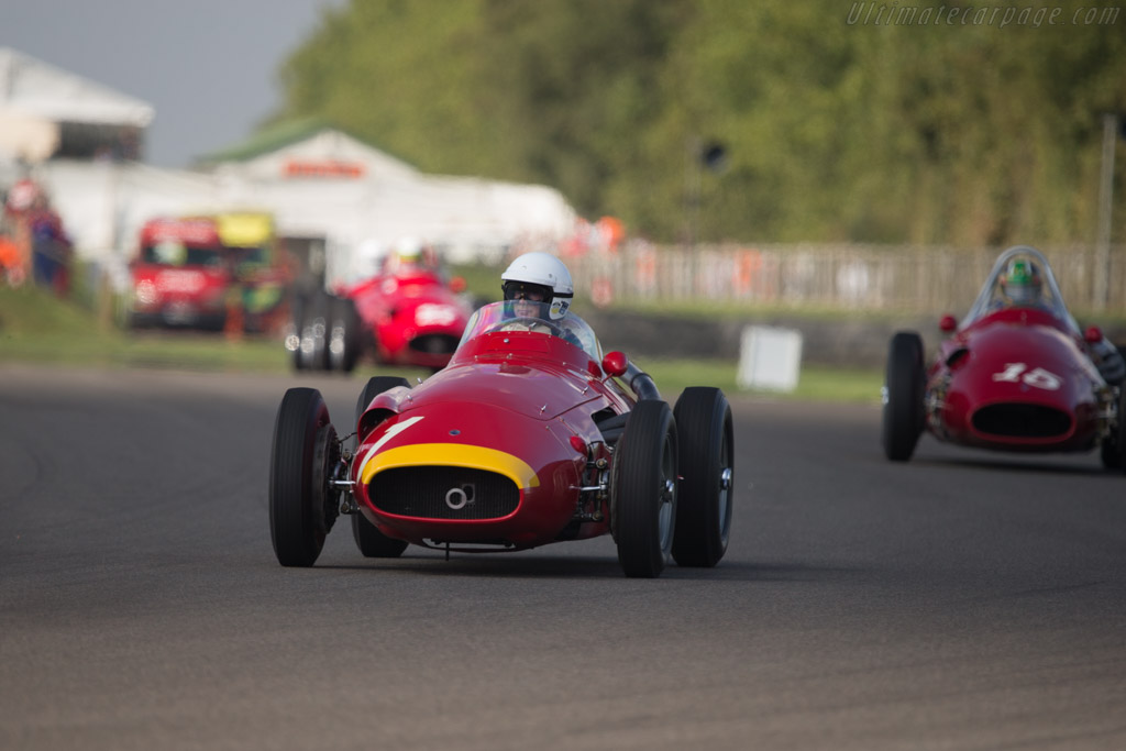 Maserati 250F - Chassis: 2529 - Entrant: Lukas Hüni - Driver: Gary Pearson  - 2014 Goodwood Revival