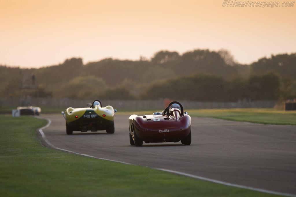 Maserati 300S - Chassis: 3059 - Entrant: Scuderia del Viadotto - Driver: David Franklin / Carlo Vogele  - 2014 Goodwood Revival